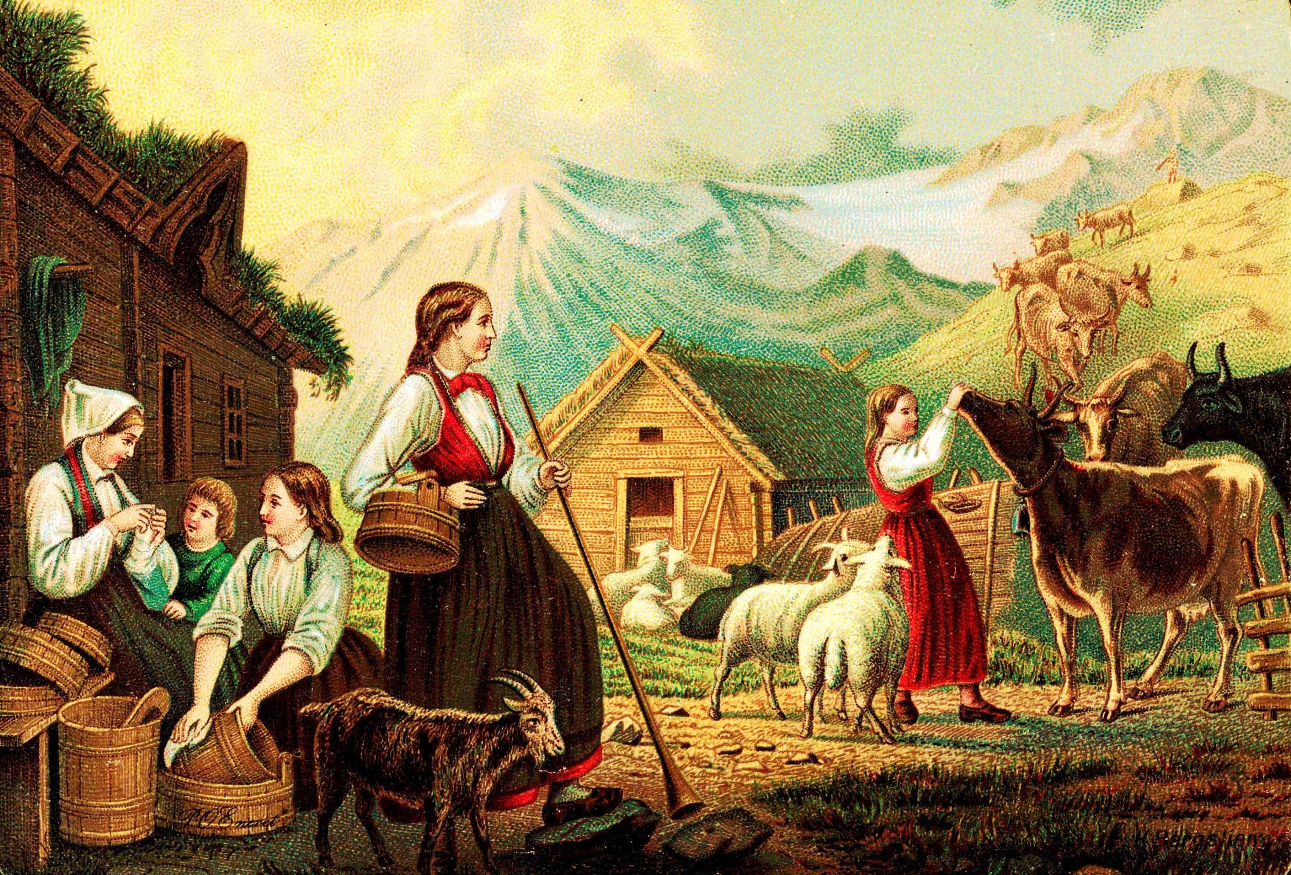 Homestead | the ancient tradition of mountain pasture | Norway