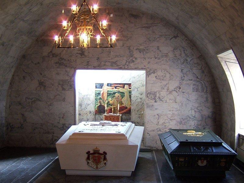 The royal mausoleum at Akershus Castle in Oslo | Photo: Per E. Hadland - Wikimedia cc by-sa.