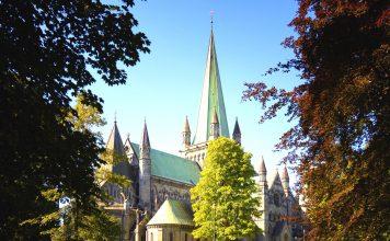 The Nidaros cathedral - Trondheim.   Copyright: alexpermyakov - fotolia.