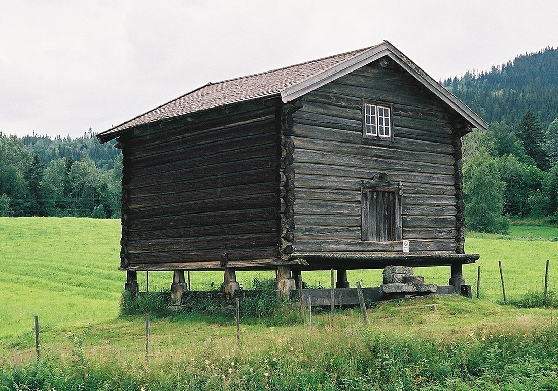 Stabbur | the food storehouse on the old Norwegian farm