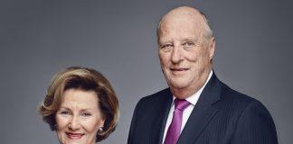 King Harald and Queen Sonja of Norway in 2016. | Photo: Jørgen Gomnæs - Det kongelige hoff.