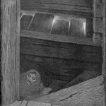 Pesta on the stairs - The Black Death. Painted 1896. | Painting by Theodor Kittelsen - wikmedia - Public Domain.