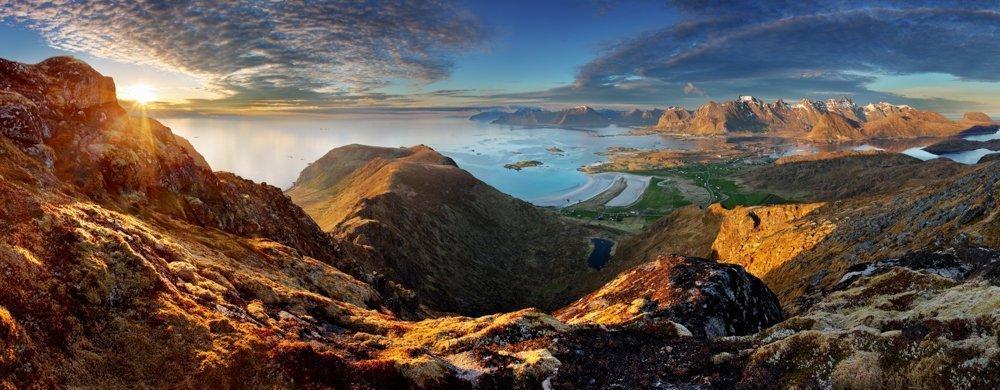 Home of the old norse gods. Lofoten, Nordland, Norway.   Photo: TTstudio - adobe stock - copyright.