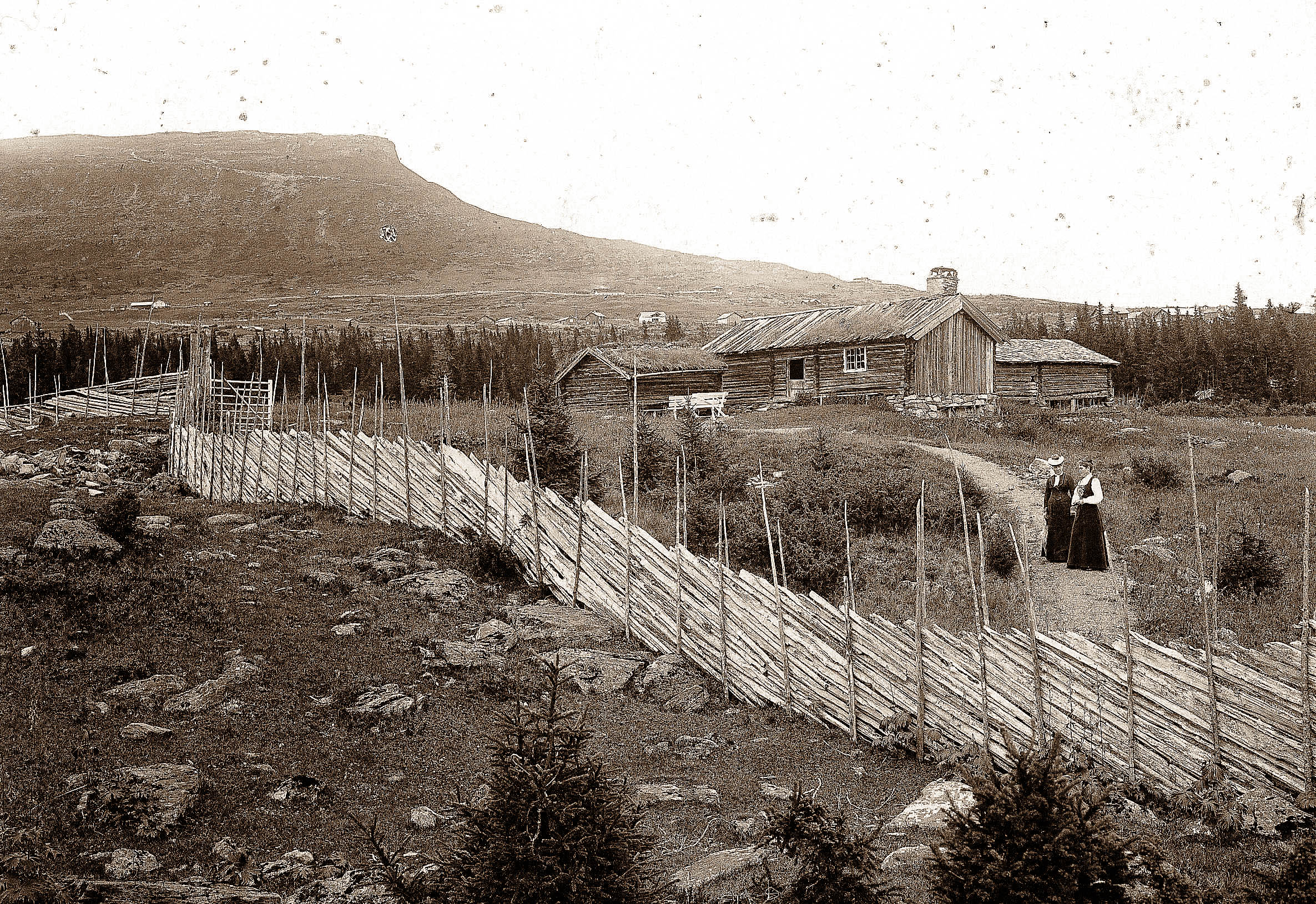Vintage photos | the landscape | Norway
