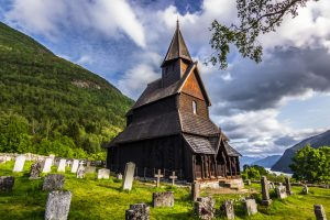 Urnes stave church in Luster, Sogn og Fjordane, Norway. Estimated built around 1140. | Photo: Rui Baião - adobe stock - copyright.