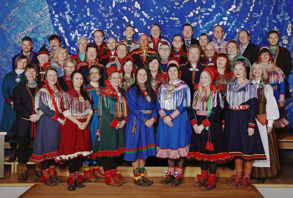 Members of the the Norwegian Sami Parliament 2017-2021. | Photo: Kenneth Hætta - sametinget.no - cc by.
