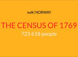Illustration - Norway census 1769
