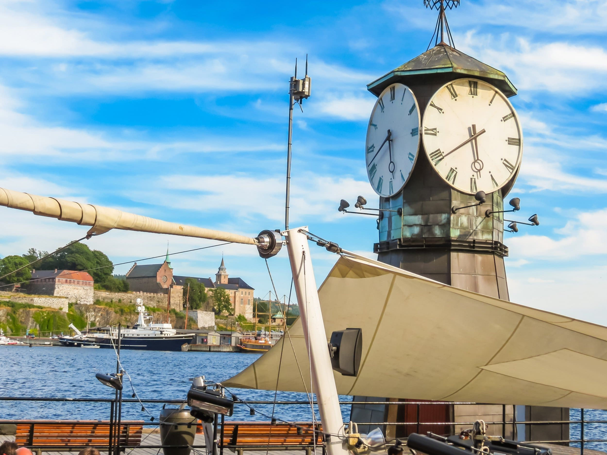 Clock in Oslo. | © Arndale - stock.adobe.com.