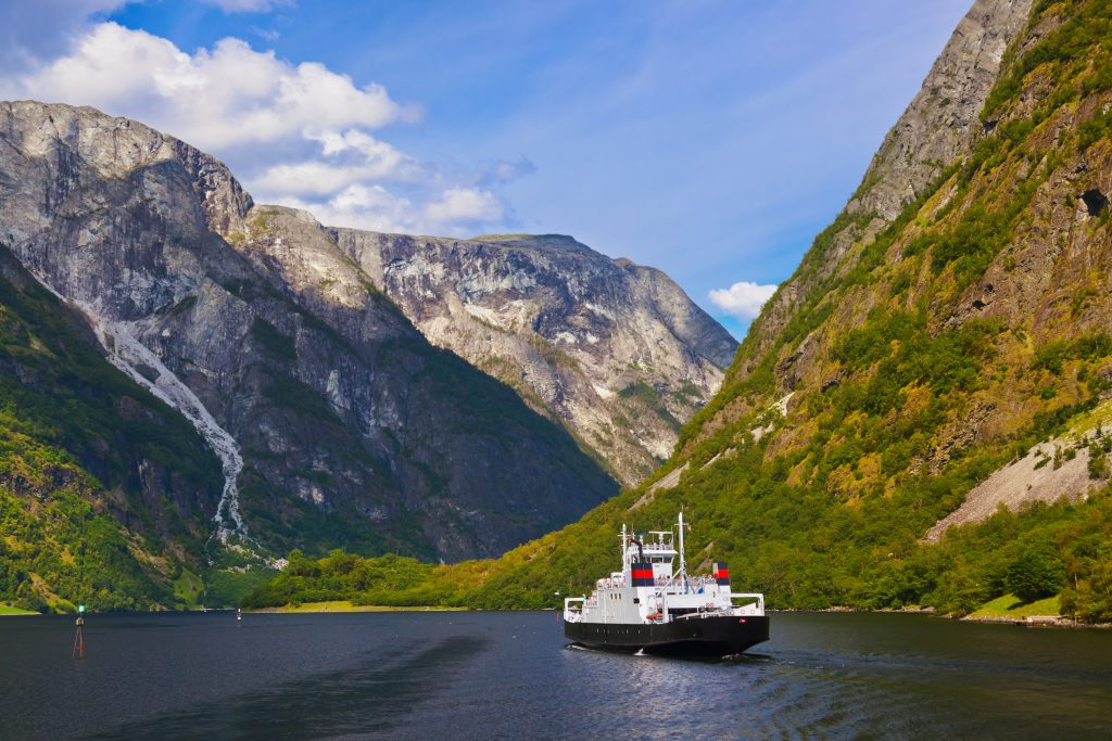 The Sognefjord. | © Nikolai Sorokin - stock.adobe.com.