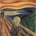 The Scream from 1910. | cc pdm.