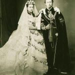 Edward and Alexandra - the Prince and Princess of Wales in 1863. | Photo: John Jabez Edwin Mayal  - wikimedia cc pdm.