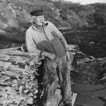The coastal pilot - los - Anton Arentsen from Ramsøya, Lillesand, Agder, Norway - in 1929. | Photo: Anders Beer Wilse - Norsk Folkemuseum cc pdm.