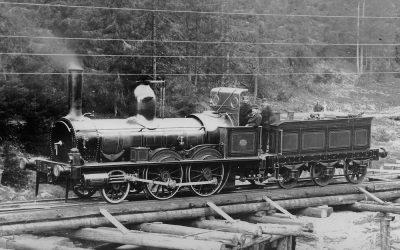 Norwegian railway history | the pioneer era 1851-1868 | Norway