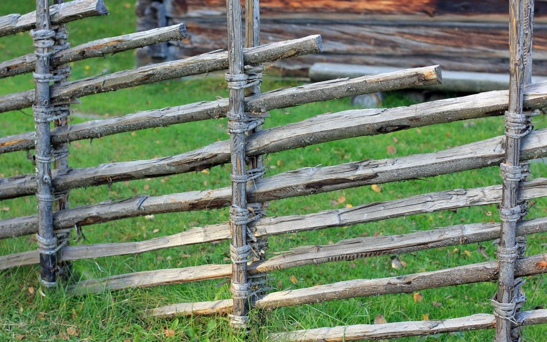 Skigard | means wooden fence in Norwegian | Norway
